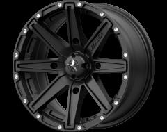 MSA Wheels M33 CLUTCH Satin Black