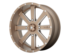 MSA Wheels M34 FLASH Milled Bronze