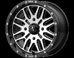 MSA Wheels M38 BRUTE Gloss Black Machined