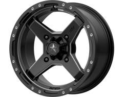 MSA Wheels M39 CROSS Satin Black Titanium Tint