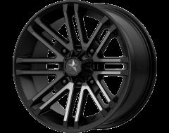 MSA Wheels M40 ROGUE Satin Black Titanium Tint