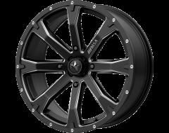 MSA Wheels M42 BOUNTY Satin Black Milled