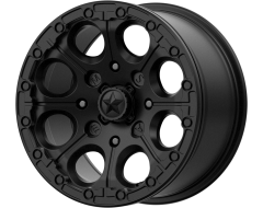 MSA Wheels M44 CANNON BEADLOCK Satin Black