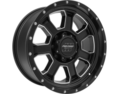 Pro Comp Series 43 Satin with Milled Accents Powder Coated