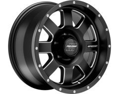 Pro Comp Series 73 Satin Black with Milled Accents Powder Coated