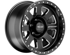 Pro Comp Series 74 Satin Black with Milled Accents Powder Coated