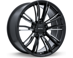 RTX Kleve OE Black with Milled Spokes