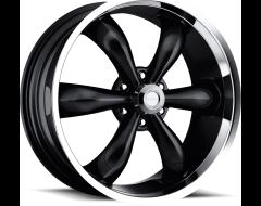 Vision Wheels 142 LEGEND 5 / 6 Gloss Black Machined Lip