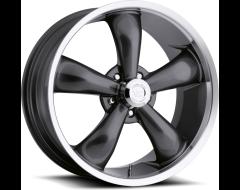 Vision Wheels 142 LEGEND 5 / 6 Gunmetal Machined Lip
