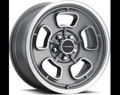 Vision Wheels 148 SHIFT Satin Grey Machined Face and Lip