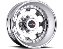 Vision Wheels 181 HEAVY HAULER Matte Black