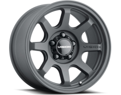 Vision Wheels 351 FLOW 2020 Satin Black