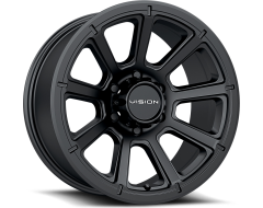 Vision Wheels 353 TURBINE Matte Black
