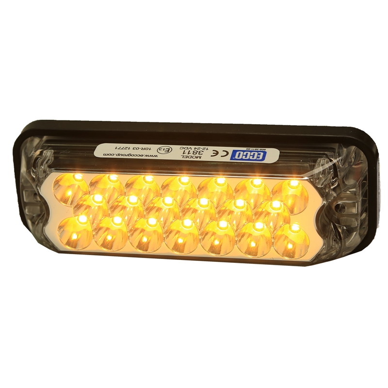 Shop Ecco Rectangular LED Mini Lightbar - Amber,All Products, Emergency Strobe Lights, Jeep Emergency Strobe Lights, Jeep LED Lights and Light Bars & Free Shipping Canada   Partsengine.ca