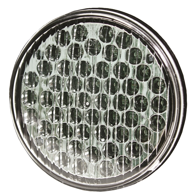 Shop Ecco Round LED Warning Light - Amber,All Products, Emergency Strobe Lights, Jeep Emergency Strobe Lights, Jeep LED Lights and Light Bars & Free Shipping Canada   Partsengine.ca