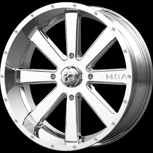 MSA Wheels M34 FLASH Chrome - PartsEngine Canada